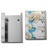 Dispenser per guanti monouso in acciaio inox 773021