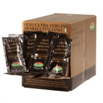 100 bustine monodose Olio extra vergine doliva italiano da 10ml - Viander 09042