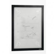 Cornice adesiva Duraframe Wallpaper A4 21x29,7cm nero DURABLE 4843-01
