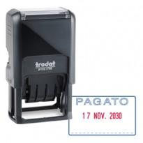 Timbro Printy 4750/2 4.0 41x24mm DATARIO+PAGATO autoinch. TRODAT 141062