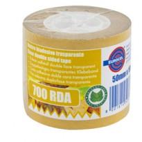 Nastro biadesivo 700RDA- 1- 50mmx10mt - in termo singolo + etichetta Eurocel 046016354