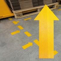 Conf.10 adesivi da terra  10x20cm 1705 Durable 1705-04