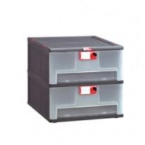Cassettiera in PP 2 cassetti Mopla 102 MOP102.GR