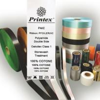 Nastro in tessuto Trasf. Termico f.to H30mm x 50mt - Printex PS/A