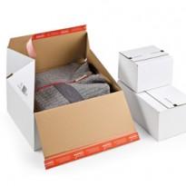 Scatola per spedizione E-Commerce 38,9x32,4x32cm Bianco CP155.456 - Conf da 10 pz.