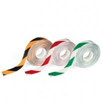 Nastro adesivo da pavimento DURALINE STRONG 50/12 50mmx30m rosso/bianco Durable 1726-132