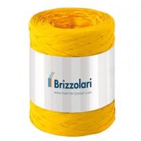 Rafia sintetica 6802 5mmx200mt colore giallo 02 Brizzolari 01003702
