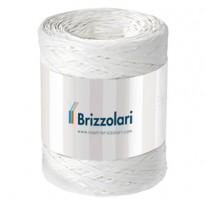 Rafia sintetica 6802 5mmx200mt colore bianco 01 Brizzolari 01003701