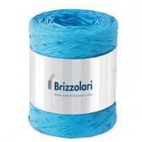 Rafia sintetica 6802 5mmx200mt colore azzurro 06 Brizzolari 01003706