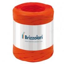Rafia sintetica 6802 5mmx200mt colore arancione 12 Brizzolari 01003712