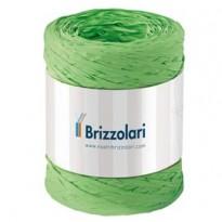 Rafia sintetica 6802 5mmx200mt colore verde chiaro 10 Brizzolari 01003710