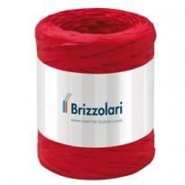 Rafia sintetica 6802 5mmx200mt colore rosso 07 Brizzolari 01003707