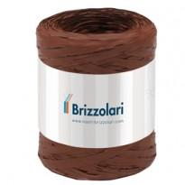 Rafia sintetica 6802 5mmx200mt colore marrone 14 Brizzolari 01003714