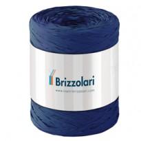 Rafia sintetica 6802 5mmx200mt colore blu scuro 37 Brizzolari 01003737