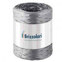 Rafia sintetica 6802 5mmx200mt colore argento 44 Brizzolari 01003744