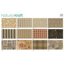 Scatola 100fg carta regalo Natura Kraft 70X100cm SADOCH N4400GEN