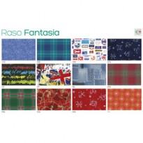Scatola 100fg carta regalo Raso Fantasia 70X100cm SADOCH R4414GEN
