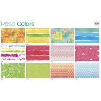 Scatola 100fg carta regalo Raso Colors 70X100cm SADOCH R4412GEN