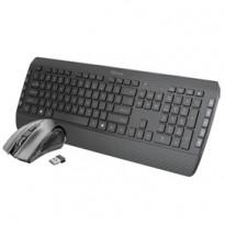 Set Tecla 2 (tastiera wireless + mouse wireless) - Trust 23477