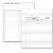 Registro verbali assemblee condominiali 80pag. 31x24,5cm DU136400000 DU DU136400000 - Conf da 5 pz.