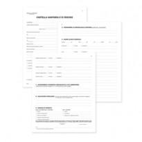 Registro cartella sanitaria/di rischio 34pag. num. 31x24,5cm DU131910000 DU DU131910000 - Conf da 10 pz.