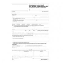 Dichiarazione conformitA impianto snap 5 copie autor. DU184110000 Data Ufficio DU184110000 - Conf da 50 pz.