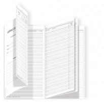 Registro del Professore (1 classe) 34x24cm DU3125PS000 Data Ufficio DU3125PS000 - Conf da 4 pz.
