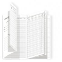 Registro del Professore (3 classi) 31x17cm DU3425PS000 Data Ufficio DU3425PS000 - Conf da 5 pz.