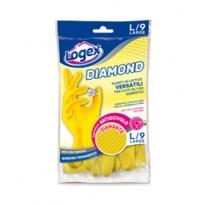 Guanti in lattice DIAMOND tg. L Giallo 1253LXL
