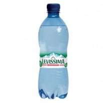 Acqua frizzante bottiglia PET 100 riciclabile 500ml Levissima 12456720 - Conf da 24 pz.