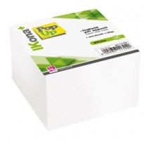 Cubo foglietti carta bianca 700fg 9,5x9,5cm CWR 11724