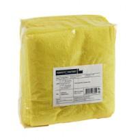 Pack 10 Panni microfibra 40x40cm giallo Ultrega PERFETTO 26600