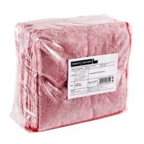 Pack 10 Panni microfibra 40x40cm rosso Ultrega PERFETTO 26601