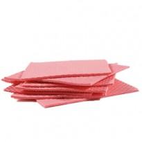 Pack 10 Pannospugna Aquos rosso PERFETTO 0231C