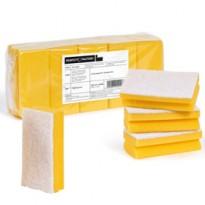 Pack 10 Spugne giallo Pro Color PERFETTO 0220B