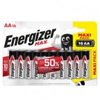 Blister 16 pile stilo AA - Energizer Max E301533100