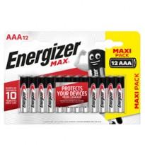 Blister 12 pile ministilo AA A - Energizer Max E301530400