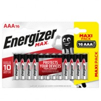 Blister 16 pile ministilo AA A - Energizer Max E301539300