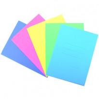 25 cartelline 3L pastello C/stampa rigatura celeste CARTEX BLASETTI 667