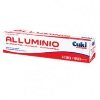 Roll alluminio H300mm x 150mt in astuccio con seghetto Cuki Professional 3930015
