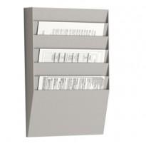 Portadepliant a 6 tasche A4 orizzontali Wall Organizers Paperflow K500002