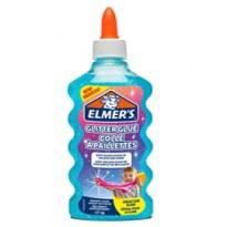 Flacone 177 ml Colla Glitterata BLU Liquida Slime Elmers Newell 2077252 - Conf da 3 pz.