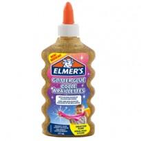 Flacone 177 ml Colla Glitterata ORO Liquida Slime Elmers Newell 2077251 - Conf da 3 pz.