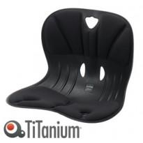 Seduta ergonomica Curble Wider nero TiTanium 9401.80-9000