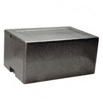 Cassa termica in polipropilene espanso per il trasporto alimenti 61x43cm H21,5cm 42130011