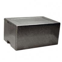 Cassa termica in polipropilene espanso per il trasporto alimenti 61x43cm H28,5cm 42140011
