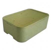 Cassa termica in polistirolo espanso per il trasporto alimenti 59,4x41,5cm H18,5 42010010