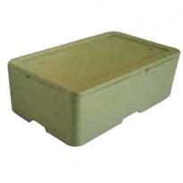 Cassa termica in polistirolo espanso per il trasporto alimenti 57,8x37,4cm H21,1 42010007