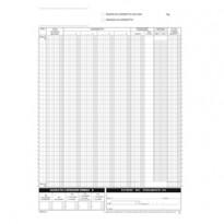 Blocco registro corrispettivi 12/12autor. 29,7x21,5cm DU168512C00 Data Ufficio DU168512C00 - Conf da 20 pz.
