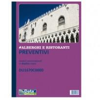 Blocco Preventivi/Ordini banchetti 50/50 copie autoric. DU1670C0000 DU1670C0000 - Conf da 5 pz.